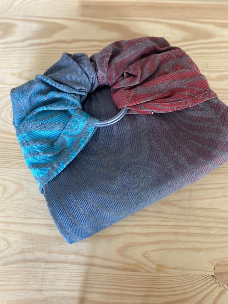Yaro Ringsling - Dandy Coral Reef Grad Grey Wool