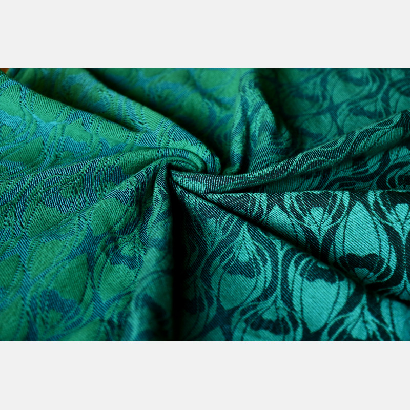 Yaro Tragetuch  - La Fleur Duo Black Green Blue Meta