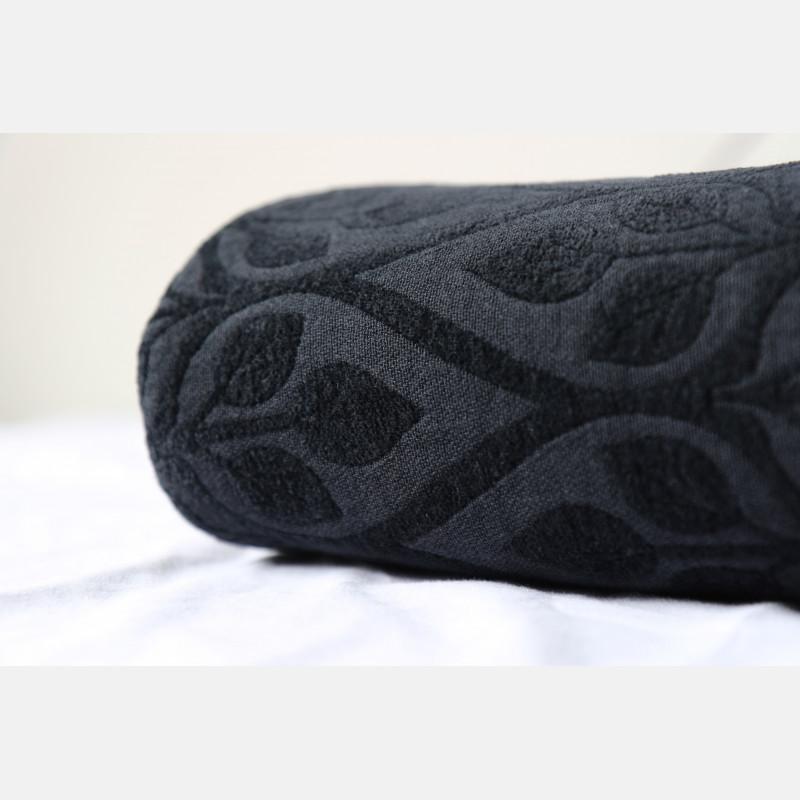 La Vita Contra Beach Towel All Black