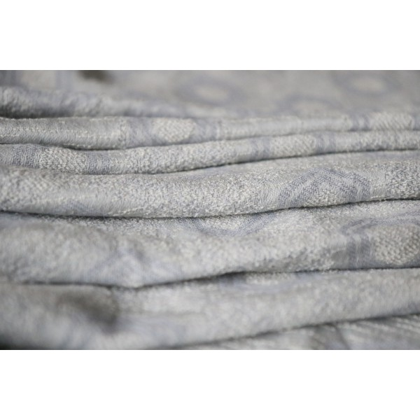 Shining Duo Silver Silk Cashmere Seacell