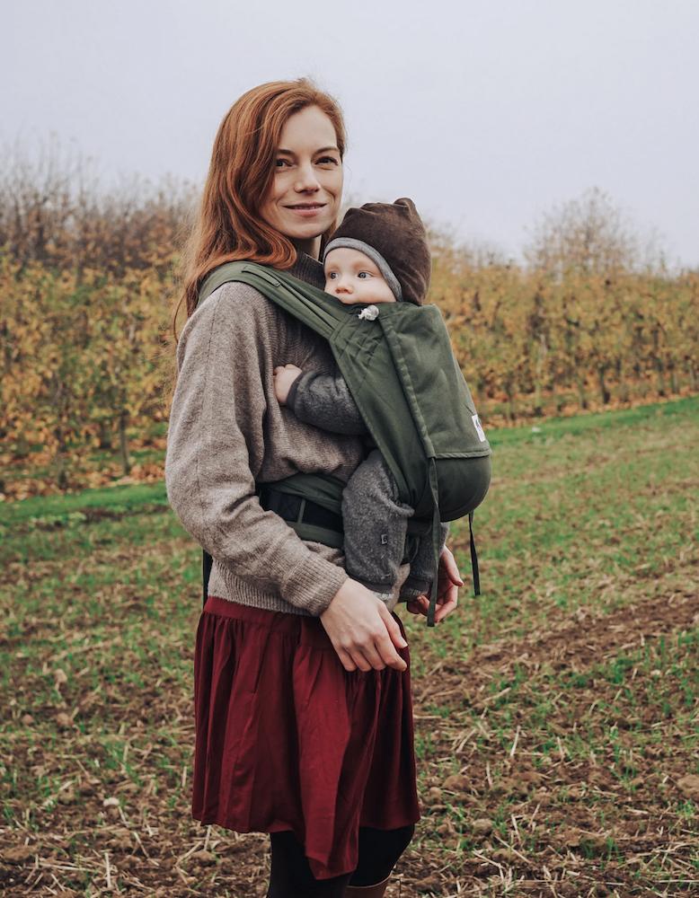 Limas Babytrage - Olive