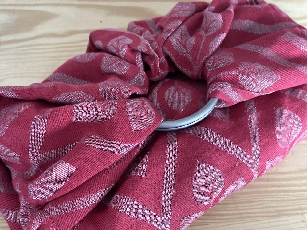 Yaro Ringsling - La Vita Fuchsia Grey Linen