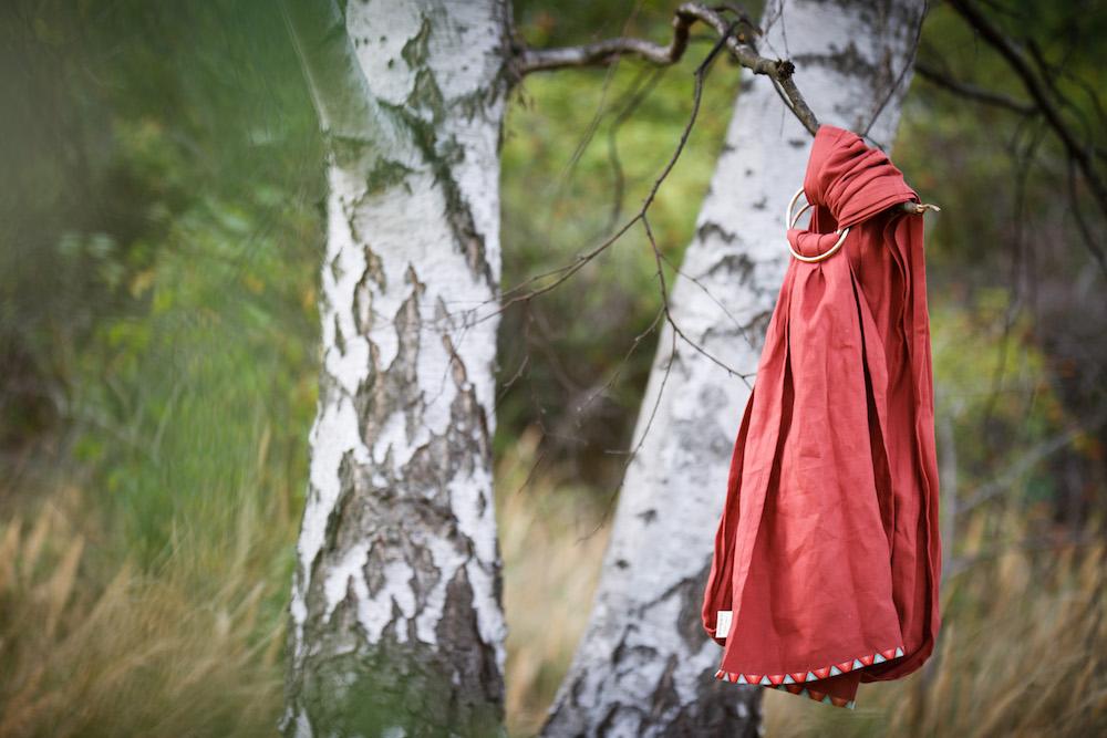 Ringsling - Leinen Herbst