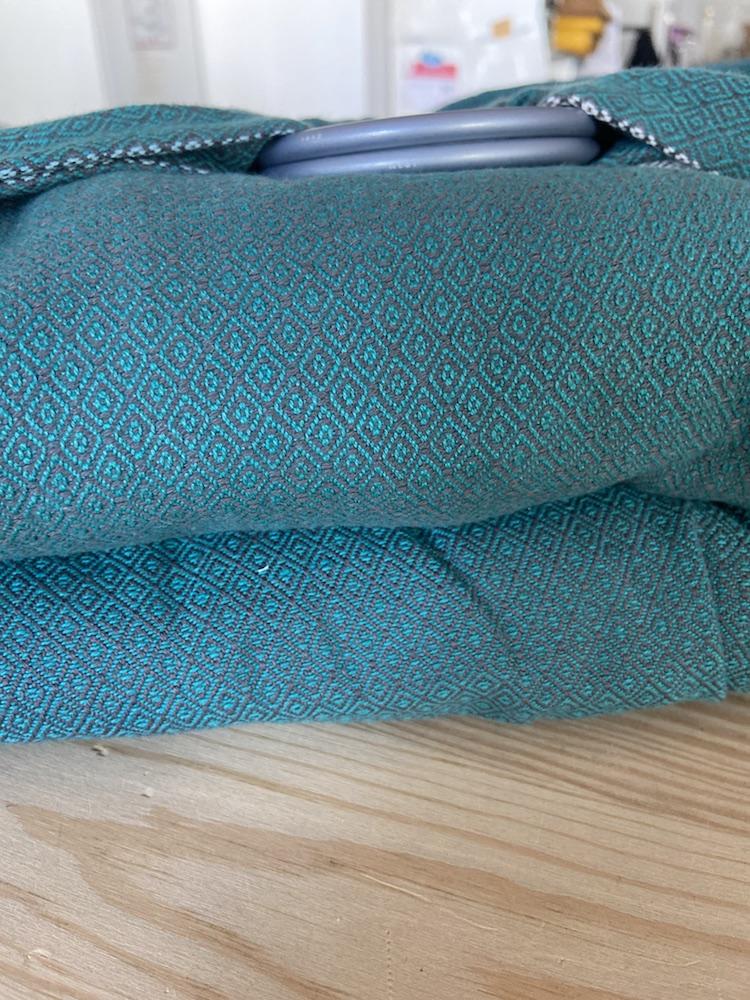 Girasol Exclusive Ringsling - Graubeere Doubleweave Diamant