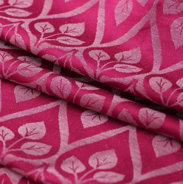 La Vita Fuchsia Grey Linen